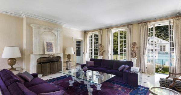 beautiful-property-for-sale-marnes-la-coquette-swimming-pool-landscaped-park-hunting-lodge-studio-closed-garage